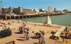 A picture of Clacton Pier