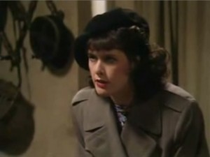 "A picture of Michelle from ""'Allo 'allo"""