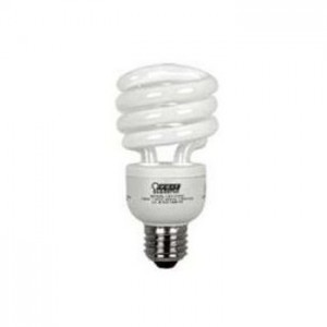 A picture of an energy saving lightbulb